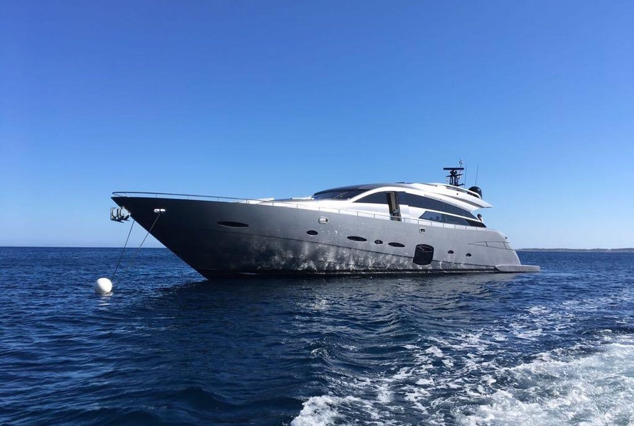 """Photo of 2016 Pershing 92 (Ex """"Race"""" CELEBRITY PRE-OWNER)"""